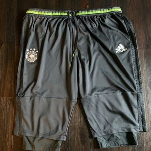 Germany Adidas 3/4 training pants